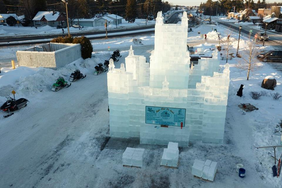 Eagle River Ice Castle